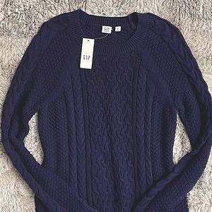 Gap Navy blue knit sweater